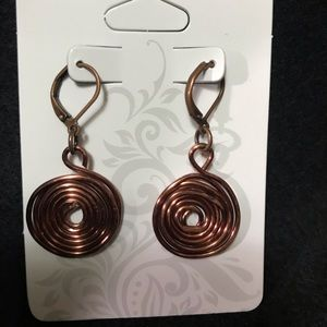 HAND CRAFTED COPPER EARRINGS